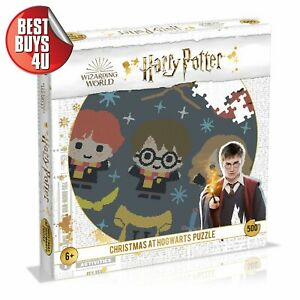 *PRE-ORDER* HARRY POTTER CHRISTMAS AT HOGWARTS 500 PIECE PUZZLE