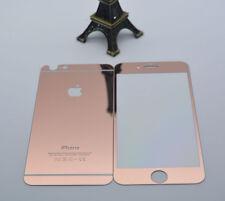 Protector de vidrio templado Premium para Apple iPhone 7 Plus de la parte delantera y trasera Rose