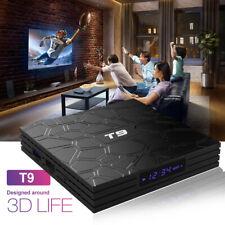 T9 Android 8.1 Tv Box Rk3328 Quad Core 64bit 4Gb/64Gb H.265 WiFi Bt Media F3O6