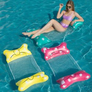 Inflatable Floating Water Hammock Float Lounger Float Toys loating Hammock for