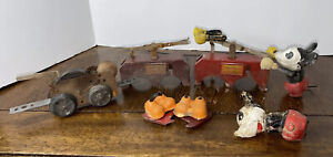 1935 ORIGINAL LIONEL TRAIN 1100 MICKEY MOUSE DISNEY HANDCAR **For Parts Only**