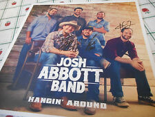 Autographed Josh Abbott Band  Photo Card