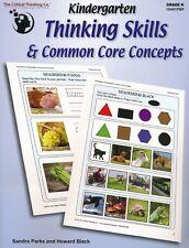 Kindergarten Thinking Skills & Common Core Concepts Critical Thinking Company