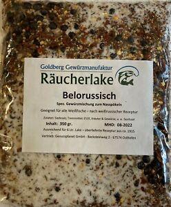 Belorussisch Pökelmischung, Pökeln Räuchern Nasspökeln Gewürz Pökellake Fisch