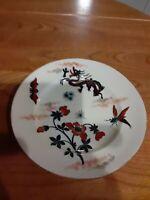 """Antique Luneville Dragon Plate Bowl 8.5"""" D"""