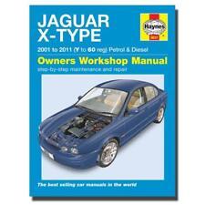 Haynes Manual Jaguar X Type Petrol & Diesel 01-11 Car Workshop Manuals,Book 5631