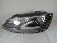 13-14 VW JETTA XENON HEADLIGHT LH GENUINE OEM HID HEADLAMP head light lamp