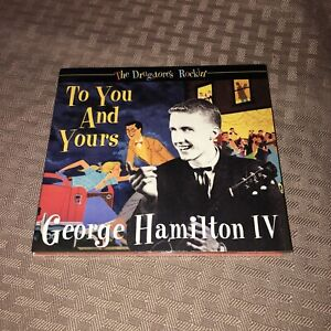 MINT! GEORGE HAMILTON IV - THE DRUGSTORE'S ROCKIN': TO YOU AND YOURS CD
