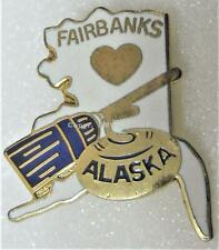 FAIRBANKS CURLING CLUB ALASKA U.S.A. Pin