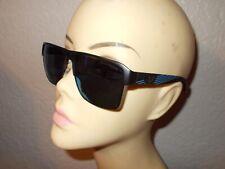 EMPORIO ARMANI EA 2066 3001/55 Matte Black Frame Blue Mirror Lenses Sunglasses