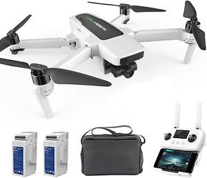 Hubsan Zino 2+ FPV  Drone 5G HD 4K GPS Quadcopter Brushless 3Gimbal 9KM + bag