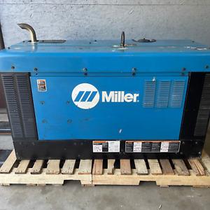 2015 Miller Big Blue 400 Pro Diesel Welder Generator Kubota Welding- 4060 hrs