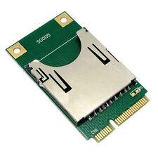 SD SDHC SSD MMC To Mini PCI-E Memory Card Reader Adapter