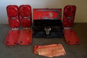vintage Micro Flares road reflectors