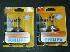 (2) PHILIPS STANDARD 9003 HEADLIGHT FOG BULBS 9003B1 12V 60/55W RUNNING LIGHT