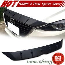 STOCK USA Unpaint Mazda 3 Maxx 4D 5D Front Hood Bonnet Spoiler Fin 16
