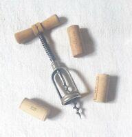 Tire-bouchon à ressort manche bois COVILLE spring Corkscrew wooden handle 1960s