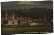 West Baden Springs Hotel West Baden In Vintage Postcard Indiana