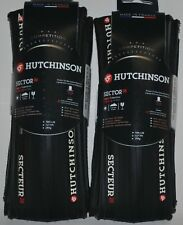 Hutchinson Sector tubeless clincher all black 700 X 28 1 pair (2 tires)