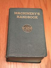 Machinery's Handbook 12th Edition - 1943 - Erik Oberg & F.D. Jones w/Thumb Index