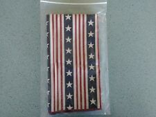 Longaberger All American single Napkin NEW in bag Stars and Stripes