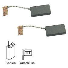 Charbon balais pour Bosch pks 54, pks 54 ce, pks 55, pks 66 - 6,3x12,5x22mm (2055)