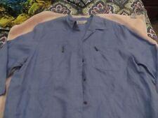 Linen 3/4 Sleeve Button-Down Tops & Blouses for Women