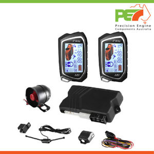 New 2 Way Car Alarm System Keyless Entry Anti-Theft Security with 2 Remote