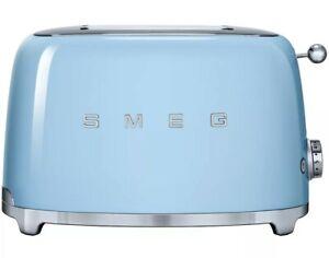 SMEG - 2 Slice Toaster - Pastel Blue TSF01PBEU