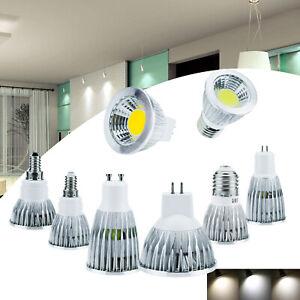 6W 9W 12W Dimmable E27 E14 B22 GU10 GU5.3 MR16 LED Spot Light  Bulb Lamp RH444
