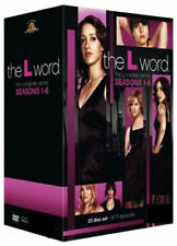 The L Word Series 1-6 - Complete DVD 24 Disc Se Box Set New Sealed Minor Damage