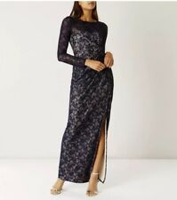 Size 12 Coast Maxi Party Occasion Evening Lace Dress