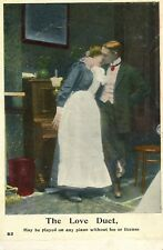 Postcard - Entitled The Love Duet.       (Ref C9)