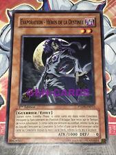 Carte YU GI OH EVAPORATION - HEROS DE LA DESTINEE PTDN-FR015 x 2
