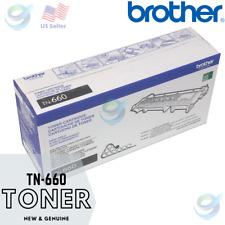 NEW GENUINE Brother TN660 🖨📄 High-Yield Toner Cartridge Original Box Certified
