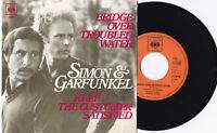 "SIMON & GARFUNKEL -Bridge Over Troubled Water / Keep The Customer...- 7"" 45"