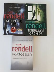 3x Ruth Rendell Books Large Paperback Free Post