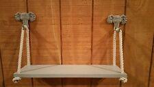 Swing Rope Shelf/Safari Nursery/ Elephant Hooks