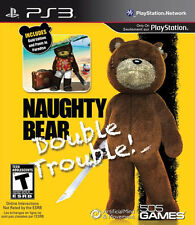 Naughty Bear Double Trouble PS3 New PlayStation 3, Playstation 3