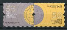 Portugal 2017 MNH Catholic University 50th 2v Set Universities Education Stamps