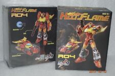 New SXS Toys Transformers R-04 Hot Flame IDW Hot Rod Figure In Stock