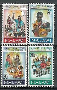 Malawi - Courrier Yvert 662/5 MNH Noël