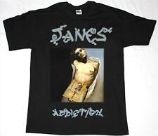 JANE'S ADDICTION PERRY FARRELL ALTERNATIVE PORNO FOR PYROS NEW  BLACK T-SHIRT