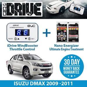 IDRIVE THROTTLE CONTROL FOR  ISUZU DMAX 2009 -2011 + NANO ENERGIZER AIO