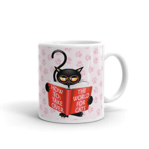 Cat Animal Quote The World For Cats Coffee Tea Ceramic Mug Office Work Cup Gift