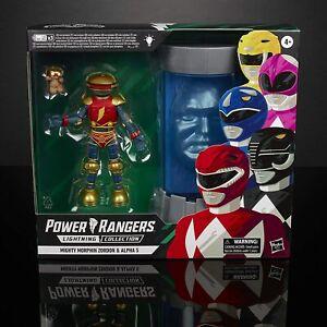 Power Rangers Lightning Collection Light up Zordon & Alpha 5 Brand New Sealed