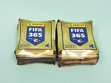 "Panini Fifa 365 ""2017"" 100 Tüten / 500 Sticker Neu & OVP Golden World  football"