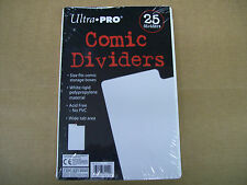 Package of 25 Ultra Pro archival safe comic book dividers