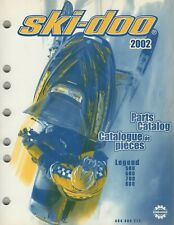 2002 Ski-Doo Snowmobile Legend 500, 600, 700, 800 Parts Manual 484 400 273 (438)
