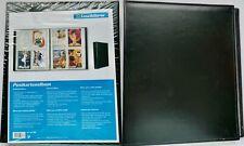 TWO (2) LIGHTHOUSE / LEUCHTTURM POSTCARD ALBUMS - EACH HOLDS 400 CARDS - BLACK